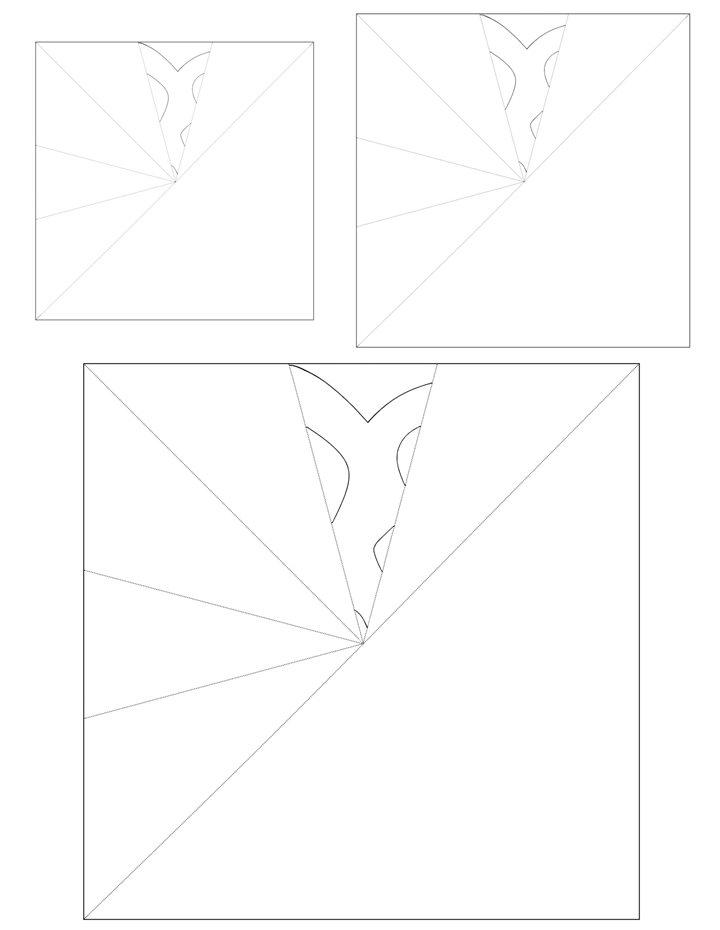 Window Snowflakes - Maria Pattern 2