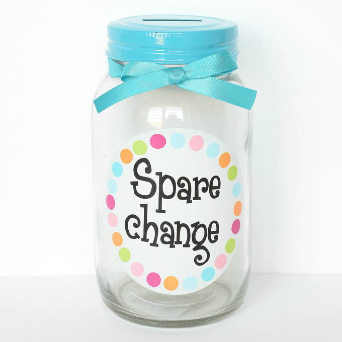 Mothers Day Gifts - Mason Jar Bank | yesilovewalmart.com