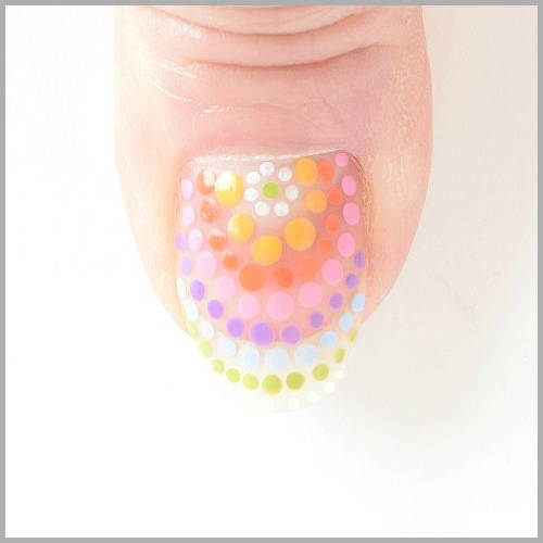 Rainbow Nails Directions - Arch | yesilovewalmart.com