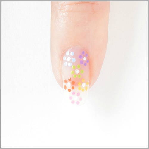 Rainbow Nails Directions - Small Flowers