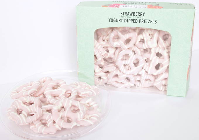 Strawberry Yogurt Dipped Pretzels - Package | yesilovewalmart.com