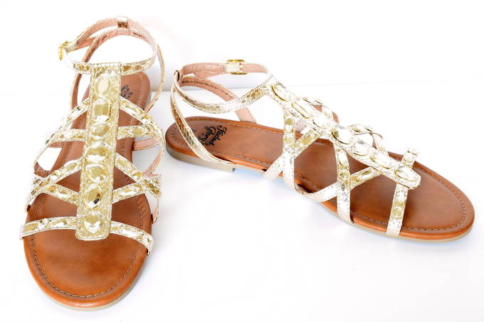 Summer Sandals - Gold | yesilovewalmart.com