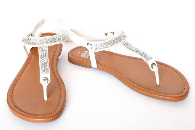 Summer Sandals - Jewel Thong | yesilovewalmart.com