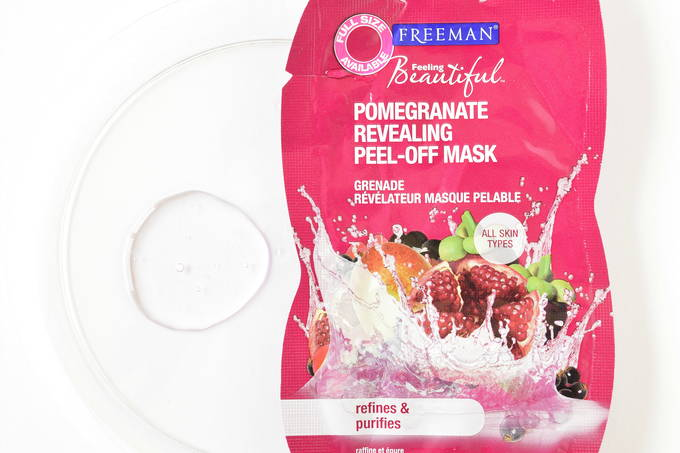 Facial Masks - Pomegranate