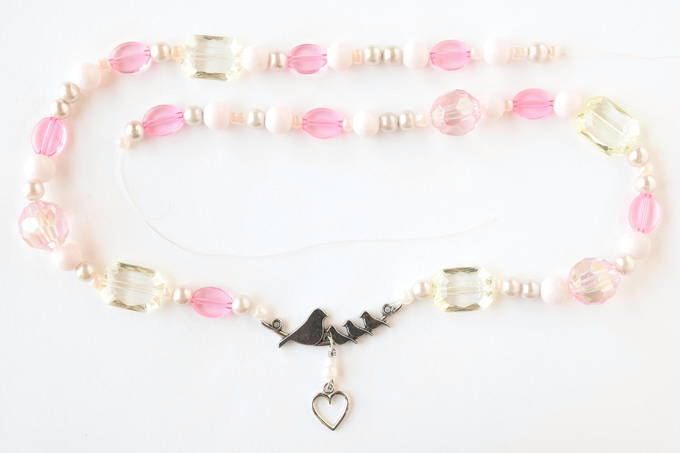 Jewelry Set - Outer Necklace, String Beads | yesilovewalmart.com