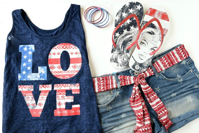 Americana Fashion | yesilovewalmart.com