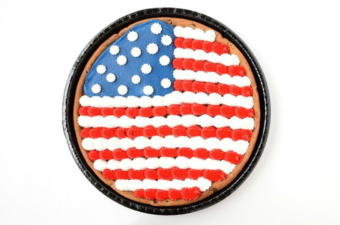 Flag Cookie | yesilovewalmart.com