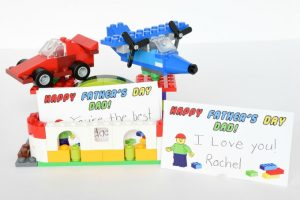 Lego Card Holder - Fathers Day | yesilovewalmart.com