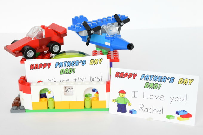 Lego business card holder gift for dad yes i love walmart lego card holder yesilovewalmart reheart