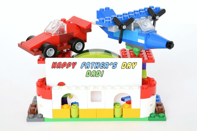 Lego Card Holder - with card | yesilovewalmart.com