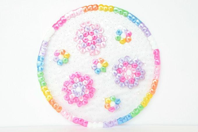 Melted Pony Beads - Baking the Dish | yesilovewalmart.com