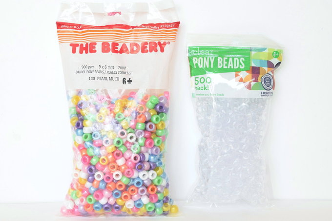 Pony Beads Dish - Supplies | yesilovewalmart.com