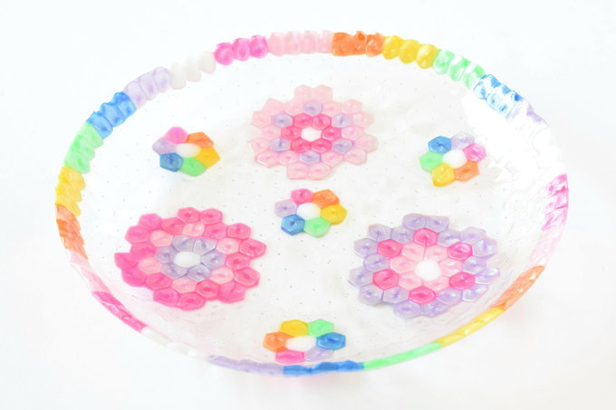 Pony Beads Dish | yesilovewalmart.com