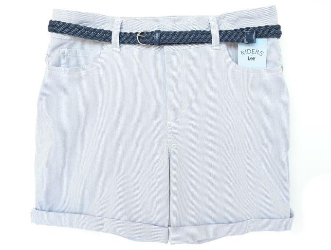 Colorful Shorts - Belted Cuff   yesilovewalmart