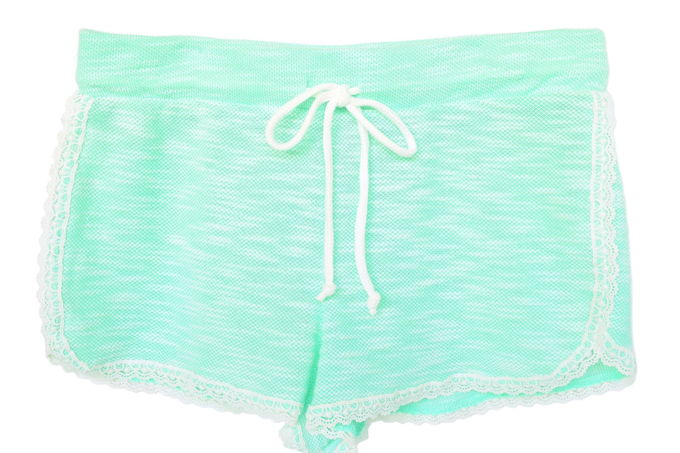 Colorful Shorts - Boucle Mint | yesilovewalmart