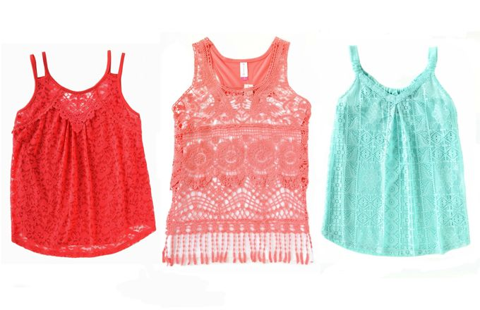 Lace Tops | yesilovewalmart.com