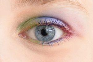 Colorful Mascara, Rainbow Eyeshadow