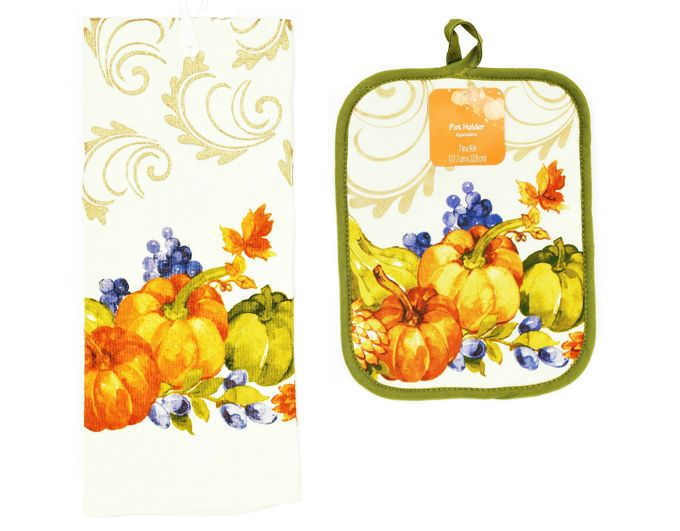 fall-scarecrows-pumpkins-towel-potholder