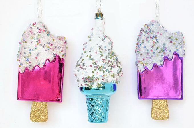 Christmas Ornaments - Cones | yesilovewalmart.com