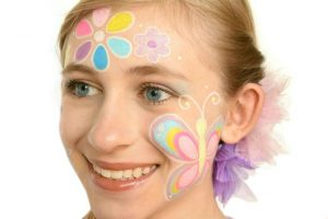 Face Painting Colorful Model1 | yesilovewalmart.com