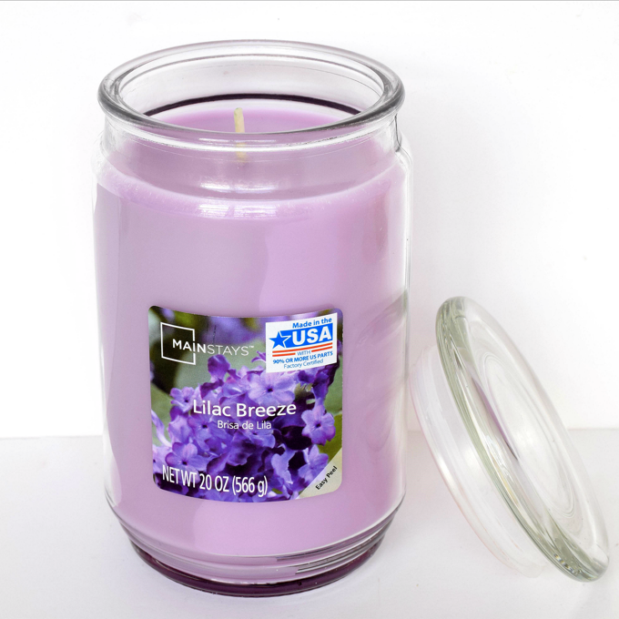 Spa Experience - Lilac Breeze Candle | yesilovewalmart.com