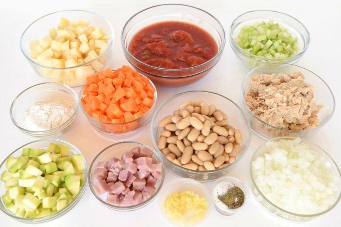 Hearty Italian Soup - Chop | yesilovewalmart.com