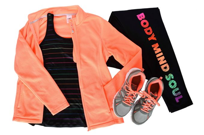 Workout Outfit, Bright | yesilovewalmart.com
