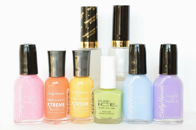 Rainbow Nails - Colors | yesilovewalmart.com