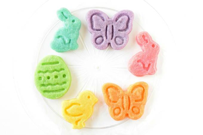 Rainbow Shortbread Cookies   yesilovewalmart.com